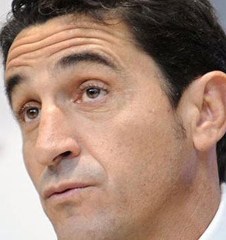 Manolo Jim�nez, en rueda de prensa.