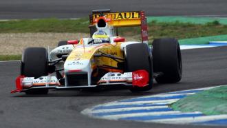Entrenamientso de F�mula 1 realizados en Jerez en diciembre. En la imagen, Luca Di Grassi