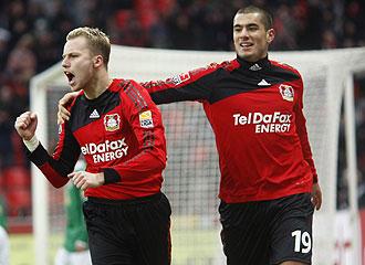 Kadlec celebra el gol del empate a uno