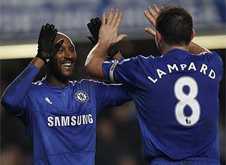 Anelka y Lampard