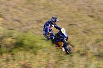 Despres, campe�n del Dakar 2010 en motos.