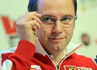 Stefano Domenicali, responsable del equipo Ferrari.