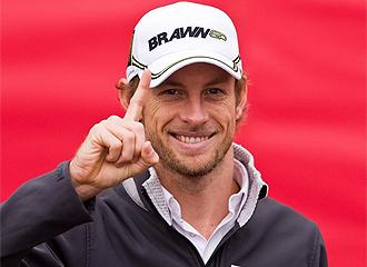 Button, en su etapa en Brawn GP
