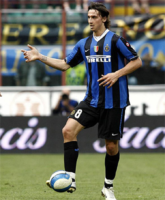 Ibrahimovic, en un partido con el Inter la temporada pasada.