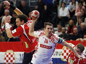 Croacia venci� a Noruega aunque lo sud�.