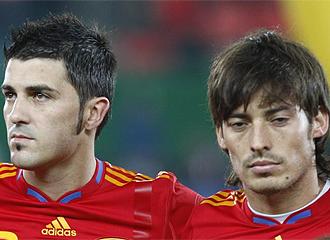 Villa y Silva son los preferidos de Torres para el Liverpool
