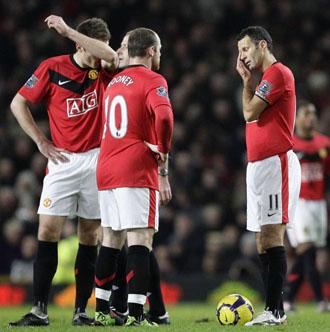 Wayne Rooney y Ryan Giggs, dos de los jugadores censurados