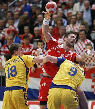 Croacia sufri� de lo lindo con Ucrania.