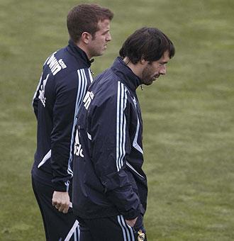 Van Nistelrooy... �en su �ltimo entrenamiento con el Real Madrid?