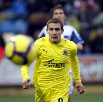 Marco Ruben, en un encuentro del Villarreal B.