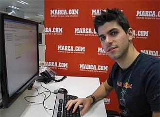 Alguersuari realiz� hace pocos d�as una charla con los lectores de MARCA.com.