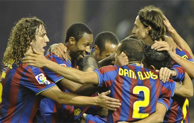 Valladolid 0-3 Barcelona