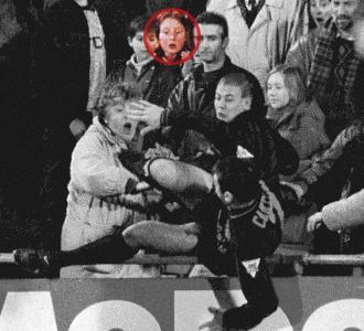 Stephanie Guzman presenci� en primera persona la agresi�n de Cantona.