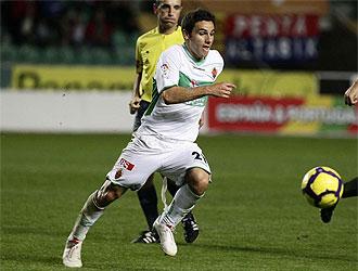 Ximo Navarro no podr� ayudar a su equipo en la siguiente jornada de Liga.