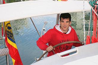 Koke Contreras, navegando