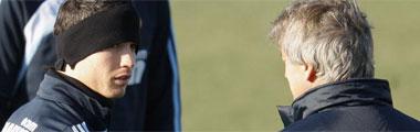 Cristiano Ronaldo y Pellegrini