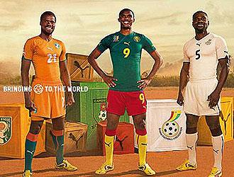 Samuel Eto'o es la gran estrella de Puma.