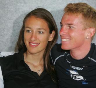 Vania Rossi y su marido Riccardo Ricc�.