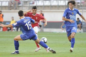 Partido entre el N�stic y el Murcia de la temporada pasada.