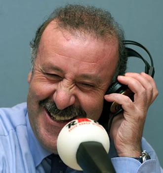El seleccionador espa�ol siempre estuvo dispuesto a intervenir en los comienzos de Radio MARCA.