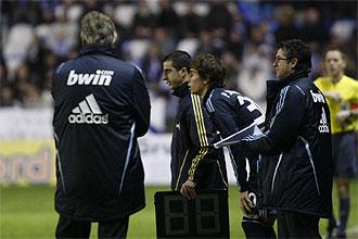 Mosquera no pudo debutar con el Real Madrid al pitar el �rbitro el final del partido