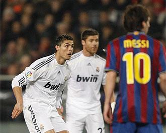Una imagen del pasado Barcelona-Real Madrid