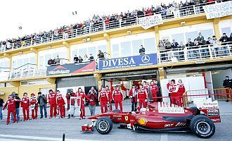 M�xima expectaci�n por ver a Alonso en Cheste.