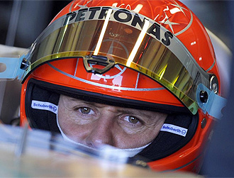 Michael Schumacher, durante la sesi�n