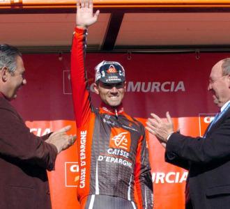 Alejandro Valverde en la Vuelta a Murcia de 2008.