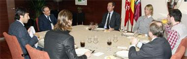 Ra�l, Casillas, Sergio Ramos y Guti almorzaron con Florentino, Valdano y Pardeza