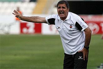 Paco Herrera, en su etapa como entrenador del Castell�n