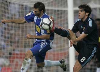 El Real Madrid venci� en la primera vuelta 0-3 al Espanyol