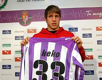 El canterano del Atl�tico, Keko, podr�a debutar contra el Valencia.