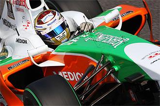 Adrian Sutil, a los mandos del Force India de 2009