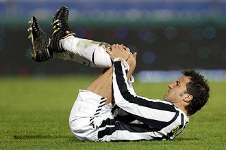 Del Piero se lamenta