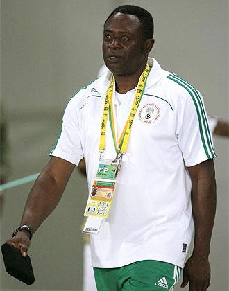 Shaibu Amodu, durante la pasada Copa de �frica
