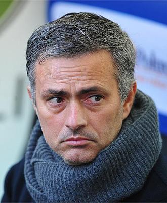 Jos� Mourinho, t�cnico del Chelsea