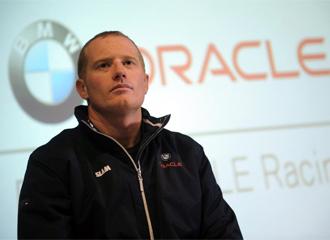 El patr�n del BMW Oracle, James Spithill
