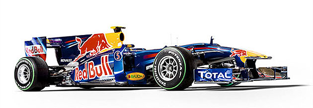 El nuevo RB6 de Red Bull