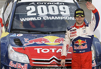 Sebast�n Loeb, ganador de 2009
