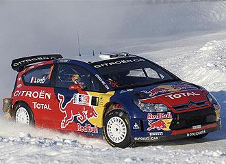 Loeb ya manda en el inicio del Mundial de rallies