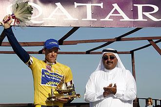 Mol celebra su triunfo en Qatar