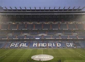 El estadio Santiago Bernab�u.