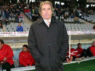 Rubio, antes de una partido del Albacete