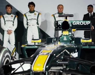 Presentaci�n del nuevo monoplaza de Lotus