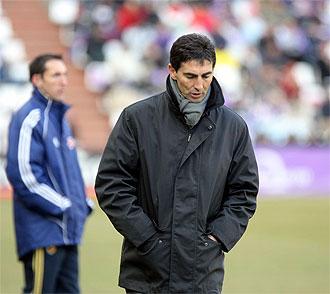 Jos� Aurelio Gay, en el partido de Zorrilla.