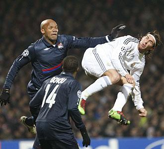 El Real Madrid cayó derrotado en Gerland