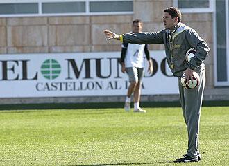 Garrido quiere su equipo concentrado en la victoria ante el Deportivo