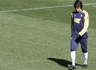 Nakamura no consigui� firmarse en el Espanyol
