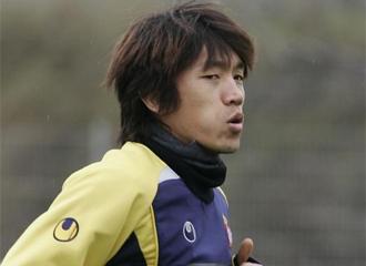 Nakamura, durante un entrenamiento.